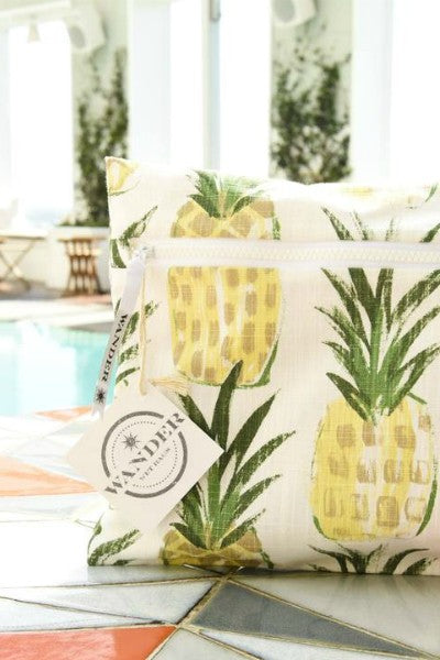 Wear a Crown - Pineapple Yellow Bag