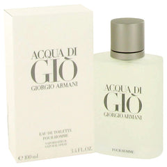 Acqua Di Gio Cologne 3.3 oz Eau De Toilette Spray at London-O Fashion