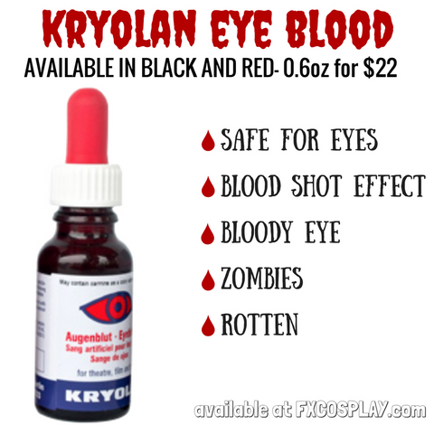 Kryolan Eye Blood