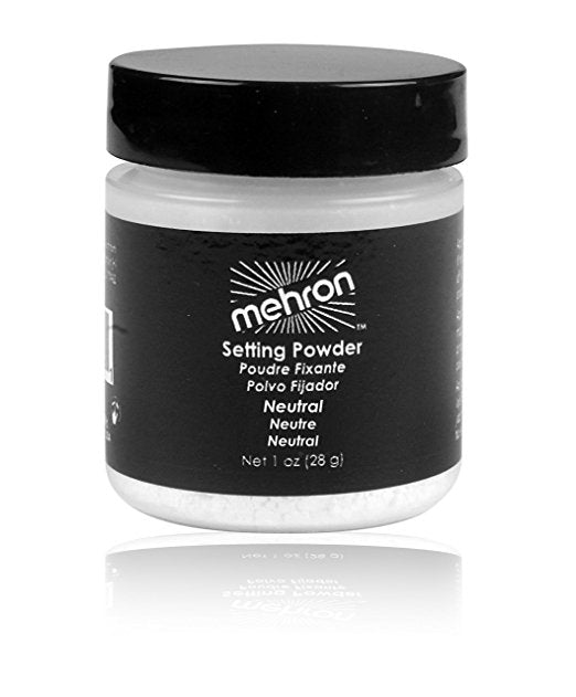 Mehron UltraFine Neutral Setting Powder 1oz
