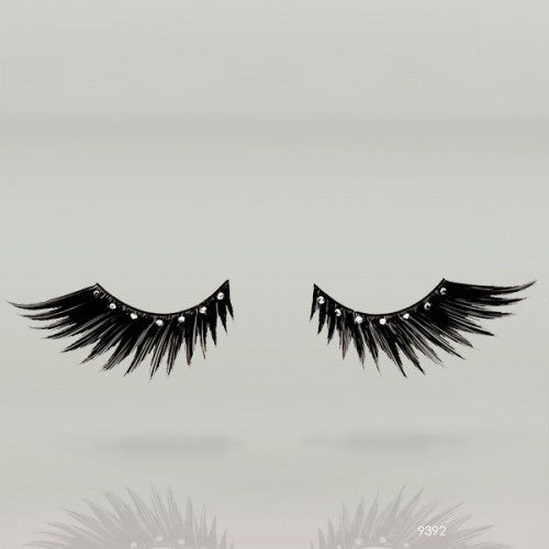 Black with Diamonds Jewlery Eyelashes 9392 - FXCOSPLAY