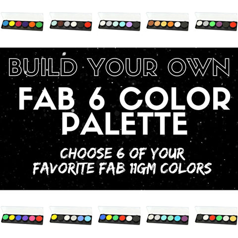 Build Your Own 6 Color FAB Palette - FXCOSPLAY