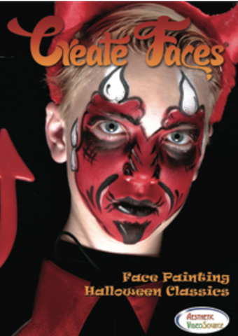 Create Faces- Halloween Classics DVD - FXCOSPLAY