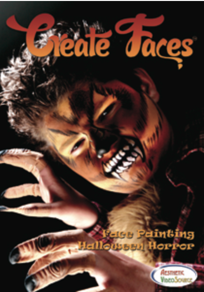 Create Faces- Halloween Horror DVD - FXCOSPLAY