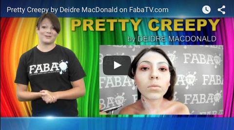Deidre MacDonald's Pretty Creepy FabaTV Class DVD - FXCOSPLAY