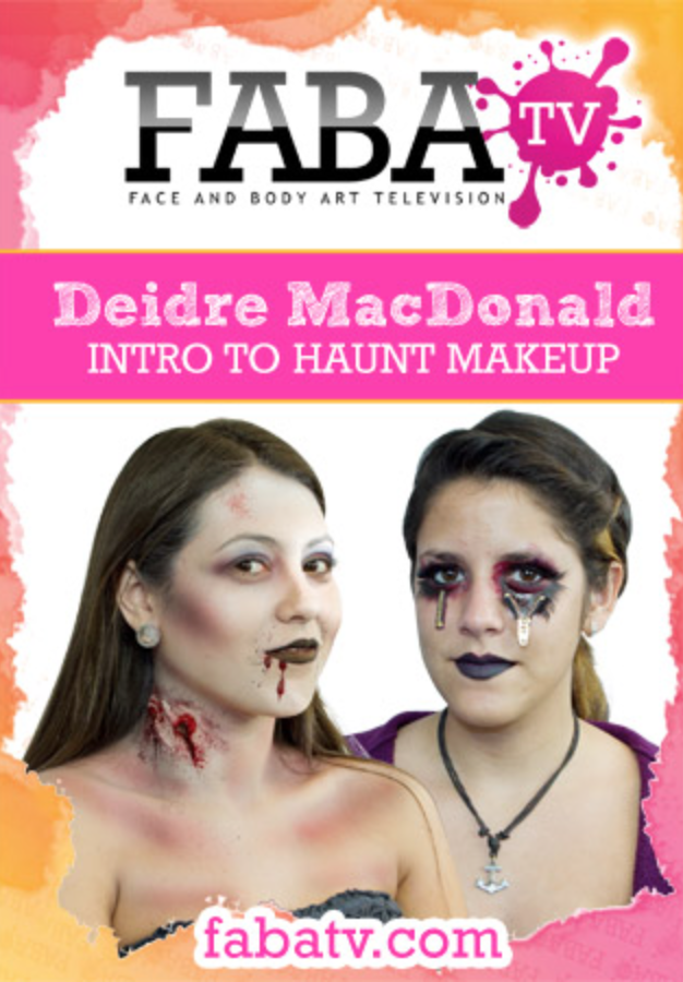 Deidre MacDonald's Intro to Haunt Makeup FabaTV Class DVD - FXCOSPLAY