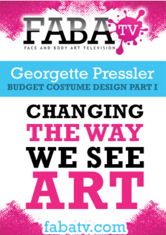 Georgette Pressler's Budget Costume Design Part 1 FabaTV Class DVD - FXCOSPLAY
