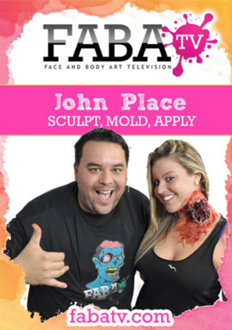 John Place's Sculpt, Mold, and Apply LIVE FabaTV Class DVD - FXCOSPLAY