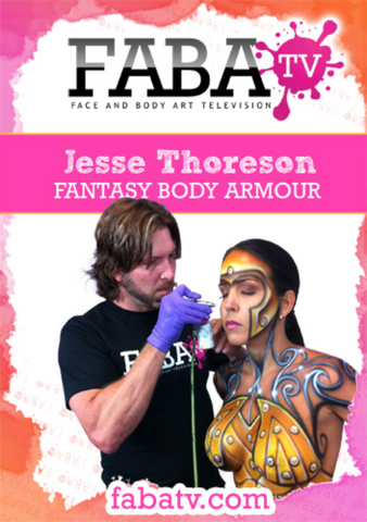 Jesse Thoreson's Fantasy Body Armour FabaTV Class DVD - FXCOSPLAY