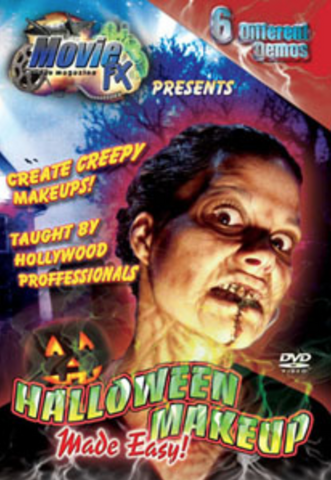 Halloween Makeup Made Easy DVD - FXCOSPLAY