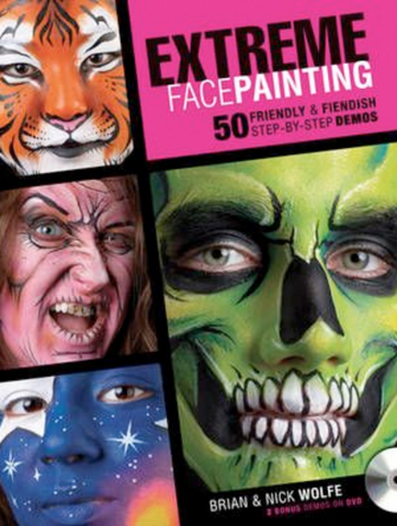Extreme Face Painting by Brian & Nick Wolfe - FXCOSPLAY
