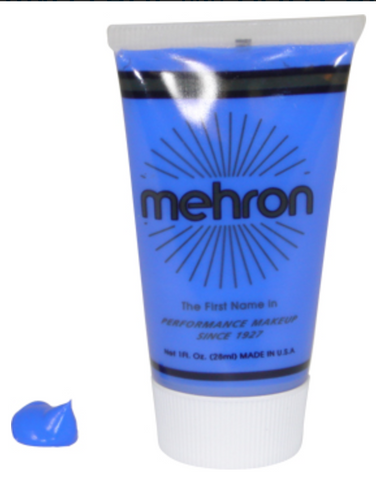 Blue FX Mehron 1oz Makeup - FXCOSPLAY