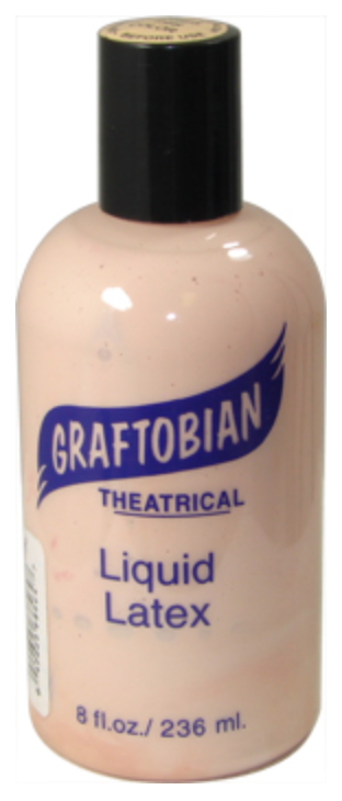 Flesh Graftobian Liquid Latex 8oz - FXCOSPLAY