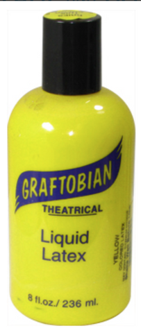 Yellow Graftobian Liquid Latex 8oz