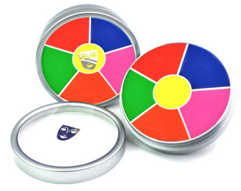 Kryolan UV- Cream 6 Color Wheel - FXCOSPLAY