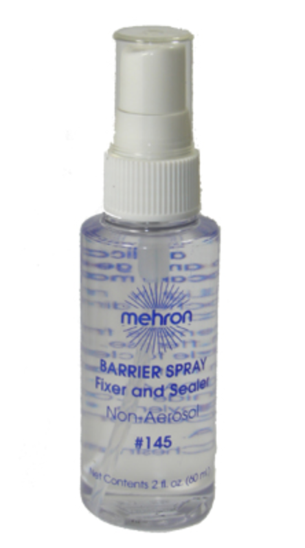 Mehron 2oz Barrier and Fixer Spray - FXCOSPLAY