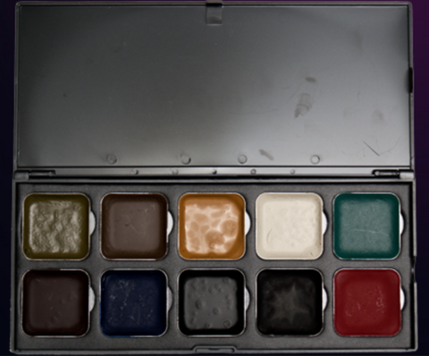 Encore ZOMBIE Edition Alcohol- Based Palette by EBA - FXCOSPLAY