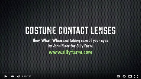 Zombie Attack Contact Lenses