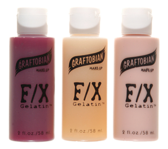 Graftobian 3 Pack FX Gelatin Blood - FXCOSPLAY