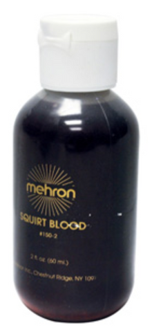Mehron Dark Squirt Blood 2oz - FXCOSPLAY