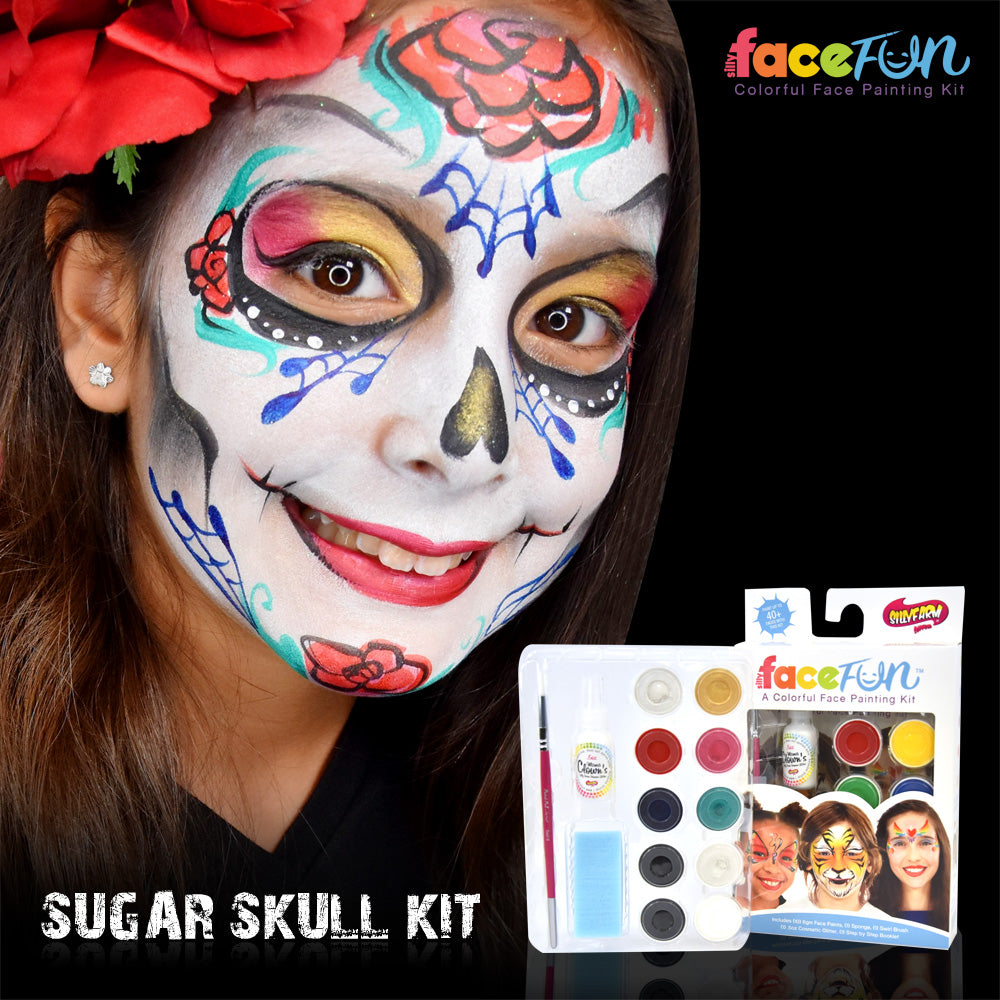 Sugar Skull Silly Face Fun Character Kit
