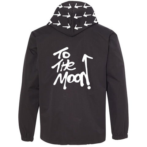 To The Moon Collaboration Raincoat