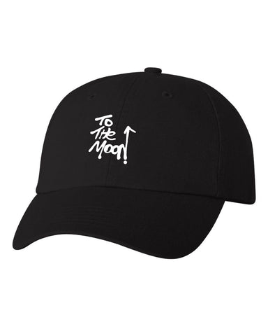To The Moon Glow in the dark Dad Hat