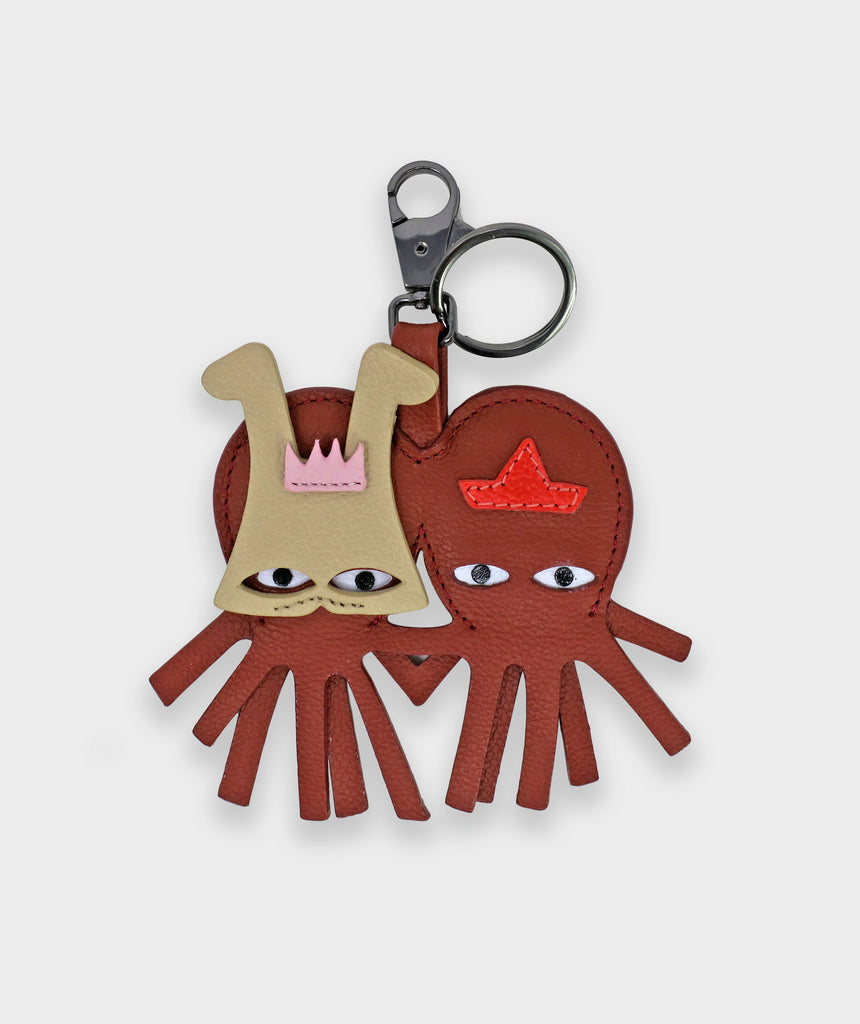 Charm Octotwins Mask Keychain