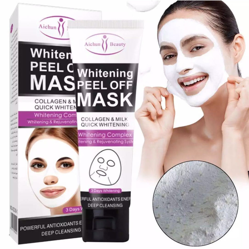 Aichun Beauty Whitening Collagen & Milk Peel Off Mask 120ml