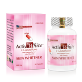 Active White High Antioxidant L Glutathione -Skin Whitening Pills (Made in USA)
