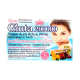 Gluta 200000 Mg Softgel L-Glutathione Mixed Berry - (Made in Switzerland) (1 Month Course) 60Capsules - Zoukay.com