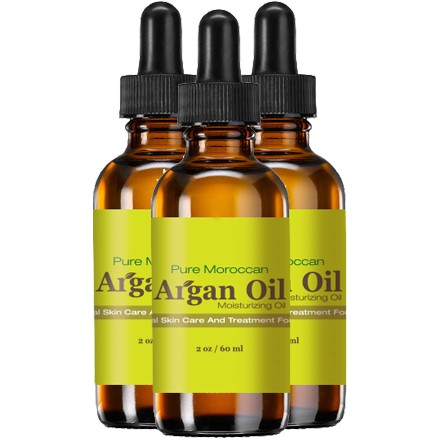 Pure Moroccan Argan Oil - Three Pack Bundle