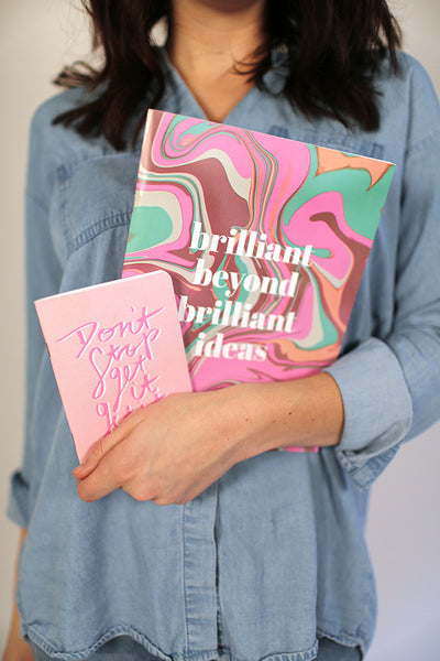 Brilliant Beyond Brilliant Ideas Notebook Set