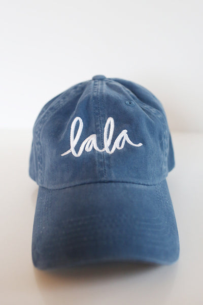 Dark Blue Lala Baseball Cap