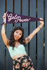 Girl Power Pennant Flag