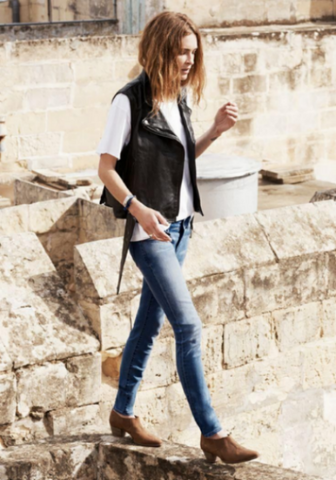 erin wasson leather jacket style trend inspiration