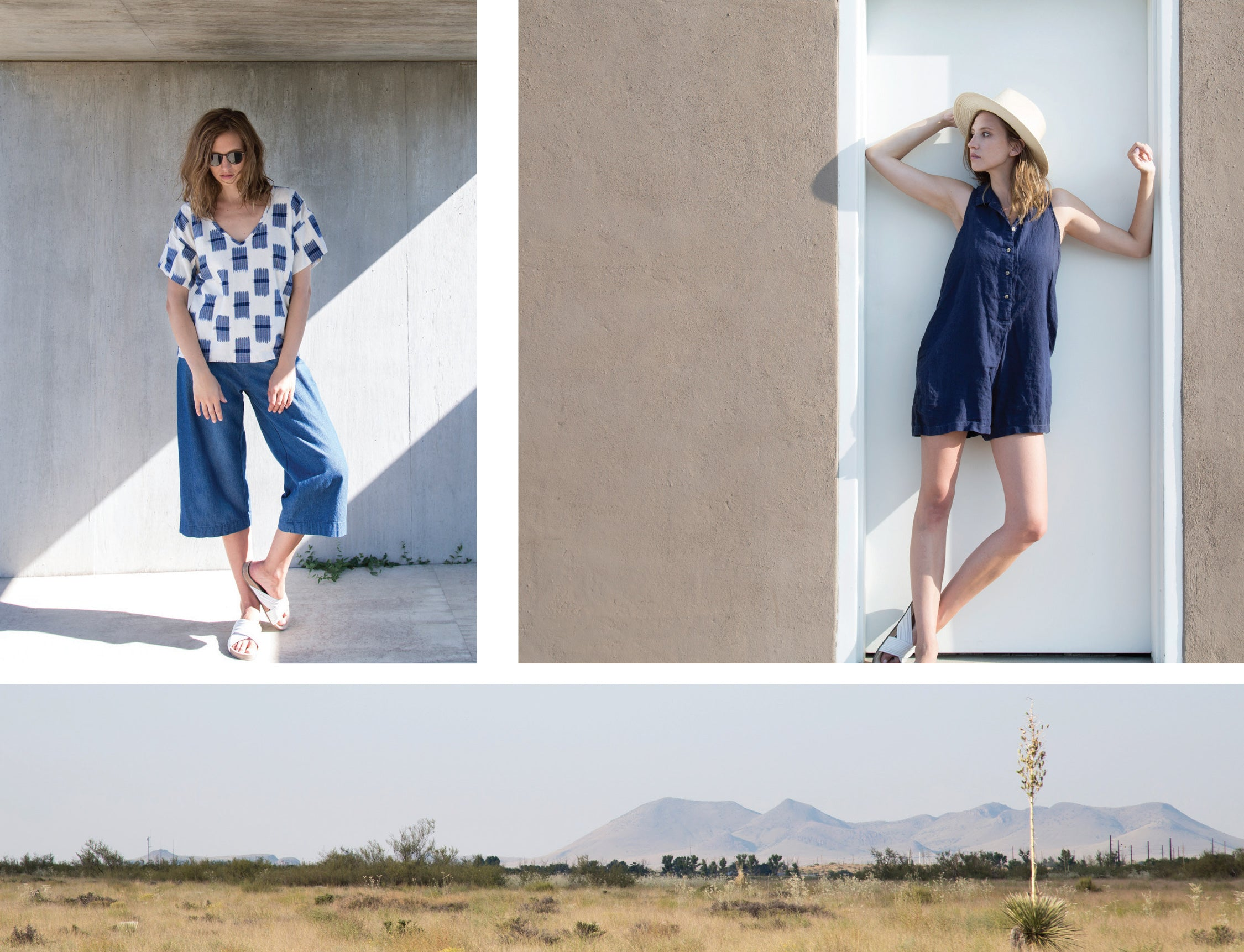 Summer/Spring Lookbook ESBY APPAREL Marfa Texas