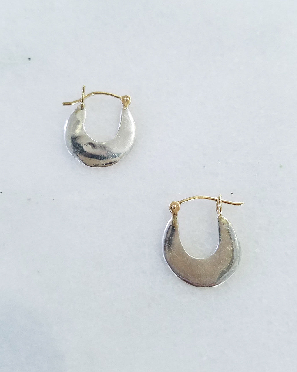 BLANCA MONROS GOMEZ - SMALL DISC HOOPS