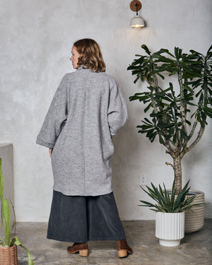 CORA DUSTER - HARBOR GREY
