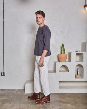 HARRIS 5 POCKET PANT - NATURAL DENIM