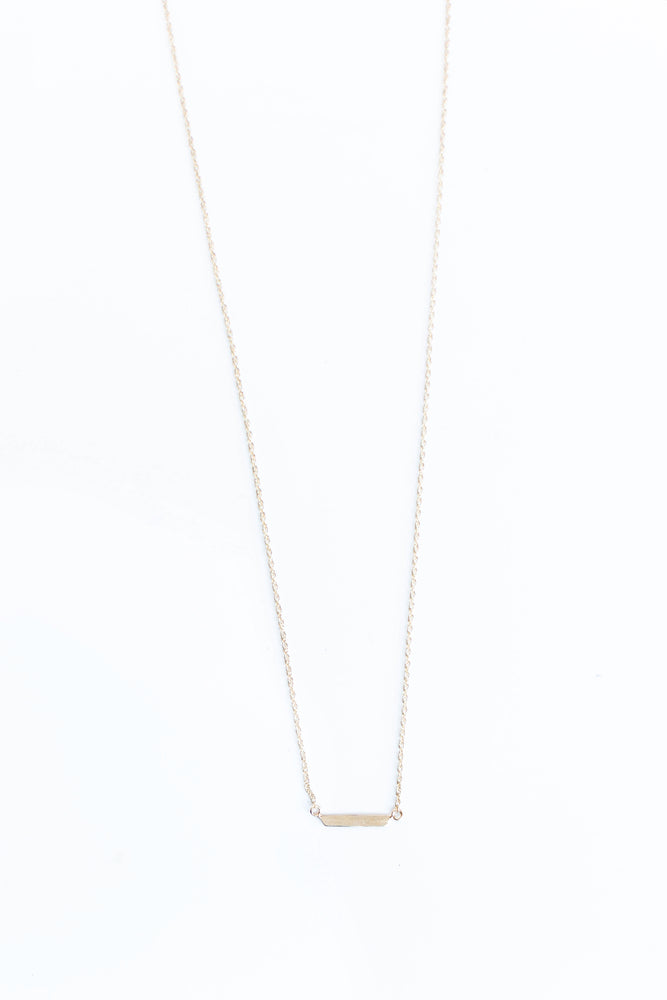 BLANCA MONROS GOMEZ - ID NECKLACE SHORT BAR