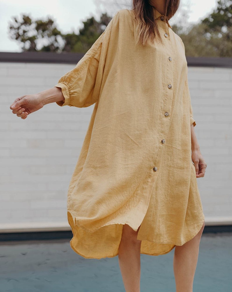 VIOLA DRESS - GOLDEN