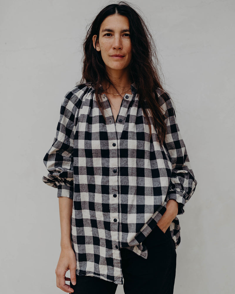 Load image into Gallery viewer, LIZA TOP - BOLD GINGHAM