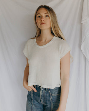 Load image into Gallery viewer, LAUREL SWEATER TANK - QUARTZ