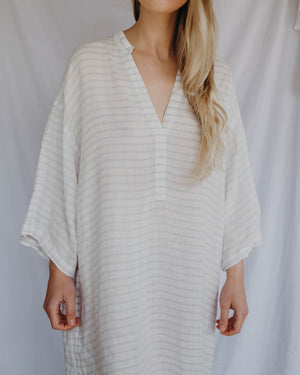 Load image into Gallery viewer, GEMMA CAFTAN - SKY STRIPE