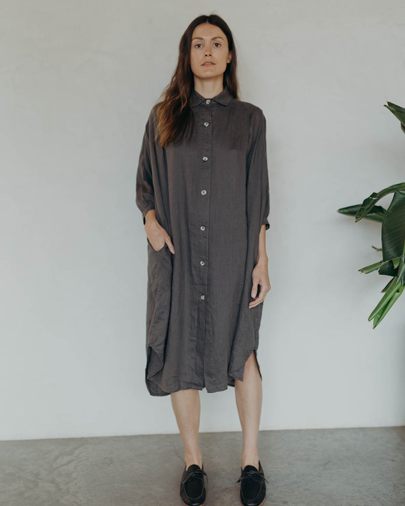 Load image into Gallery viewer, VIOLA DRESS - ASH