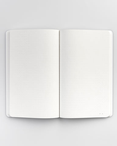 "PUBLIC SUPPLY - 5X8"" EMBOSSED NOTEBOOK - STEEL"