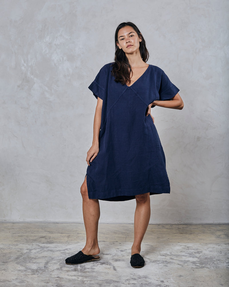 Load image into Gallery viewer, ALICE TUNIC - INDIGO