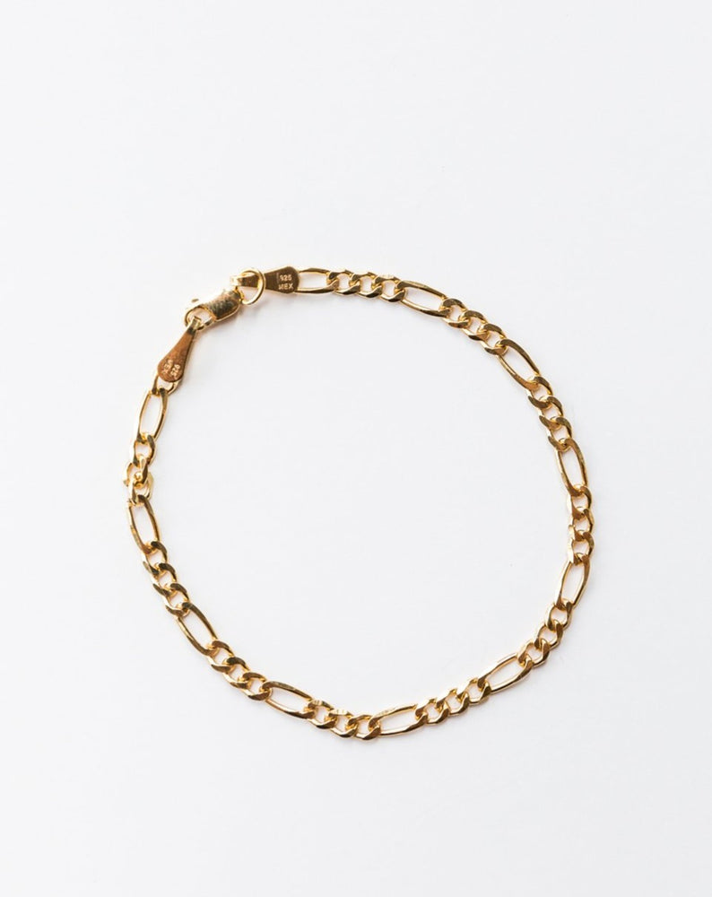 Load image into Gallery viewer, ARO - FIGARO CHAIN BRACELET - GOLD