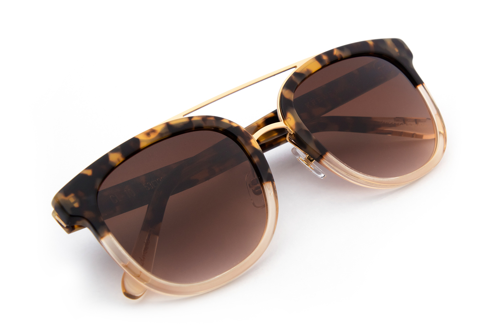 Krewe Du Optic - CL- 10 - Blonde Tortoise to Champagne 24K